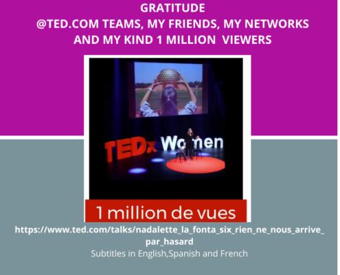 TEDx un million de vues
